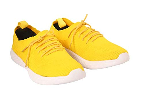 Buy Globalite Yellow Running Shoes for
