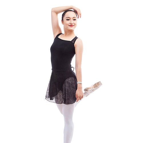 Embiofuels(TM) 2016 New Fashion Ballet Leotards Vest Lace Splice Ballet Dance Clothes Special Back Design Girls Adults Gymnastics Leotards by Embiofuels