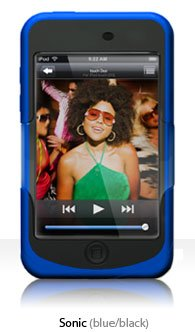 3g Silicone Touch (iSkin Duo Touch 2G and 3G Silicone Case - Blue)