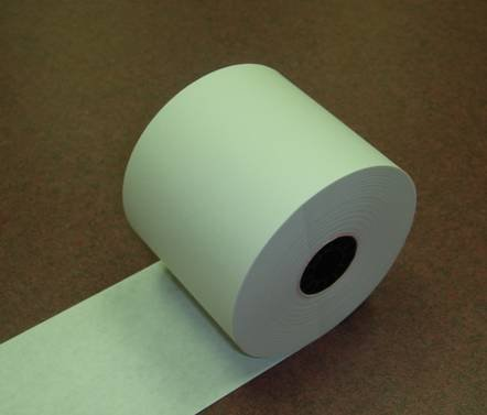 Sharp XE-A207, XE-A407 and XE-A507 Cash Register Paper Rolls, Thermal, 2 1/4'' (58mm) X 198 Ft. Case of 100 Rolls by Aftermarket (Image #1)