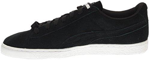 Puma Daim X Trapstar Mens Daim Noir Lace Up Sneakers Chaussures Noir / Blanc