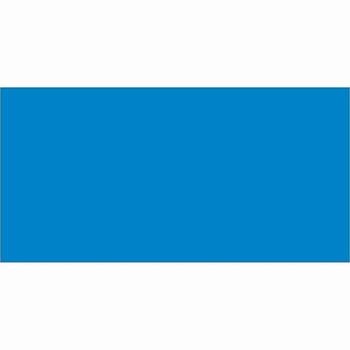 Tape Logic DL636C Inventory Rectangle Label, 4'' Length x 2'' Width, Light Blue (Roll of 500) by Tape Logic