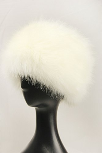 684f9c1ff68 Dikoaina Faux Fur Cossack Russian Style Hat for Ladies Winter Hats for Women