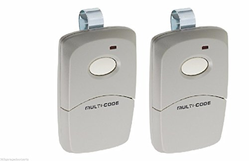 2-Pack Multi-Code 3089 MultiCode 308911 Linear MCS308911 Garage Gate Remote 300m (T-shirt Value Code)
