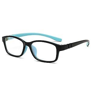 Fantia children With amblyopia Frame Ultra Light TR90 Boys and Girls eyeglass (2#)