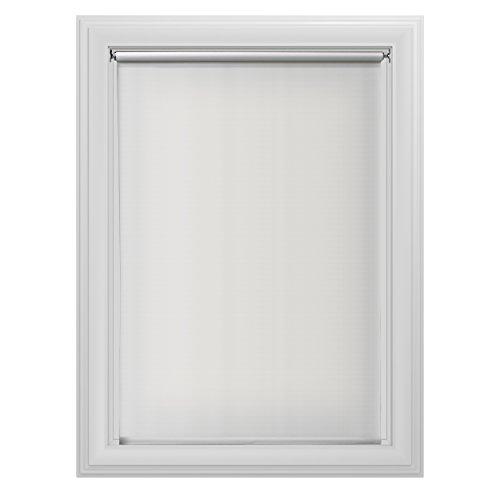Bali blinds 6 mil room darkening roller tear shade 55 1 4x72 white home garden decor window - Pristine shades white home decor ...