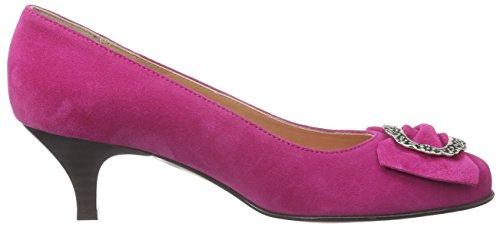 À Camelia Rose Chaussures Couvert fucsia Du Femme Talons Pieds Diavolezza Avant Pink qSEwd5z