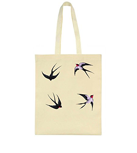 Bag A Birds Circle In Tote Flying wPPqnXRE