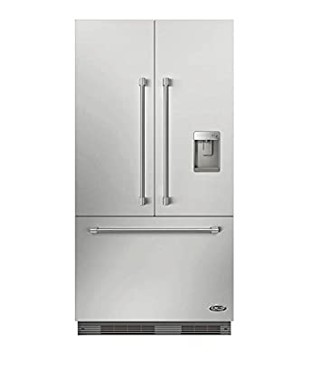 DCS RS36A72JC1UC1 36u0026quot; Star K Energy Star Built In French Door  Refrigerator With 16.8