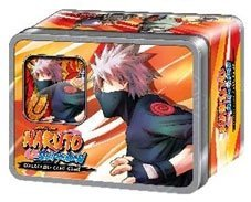 2011 Collector's Tin: Naruto Shippuden Card Game Rebirth Kakashi's Eight Ninja Dogs Collector Tin Set Includes 2 Promo Card & 4 Packs!