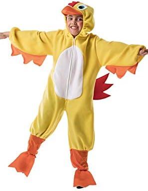 Disfraz de Pollo Amarillo Infantil A-(3/5 años): Amazon.es ...
