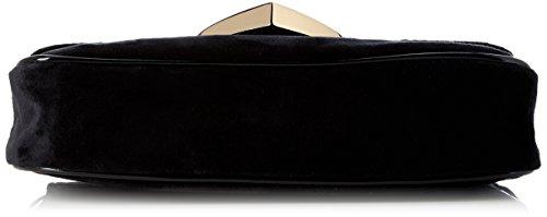 Tamaris Love Crossbody Bag - Borse a tracolla Donna, Schwarz (Black Comb.), 5x14x23 cm (B x H T)