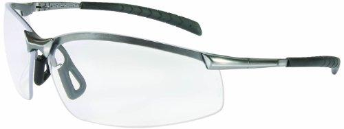 North by Honeywell A1300 GX-8 Series Safety Eyewear, Brushed Steel