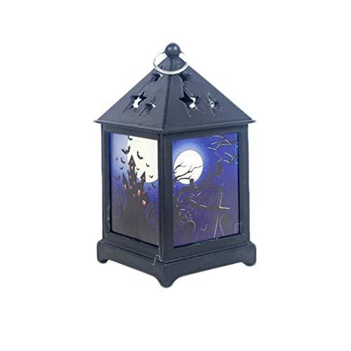 Halloween Lights Outdoor Decor DOOIOR Door Room Decoration LED Lantern Party Home Props Lamp]()
