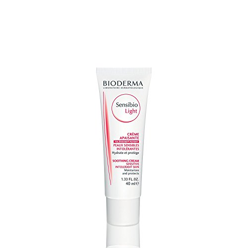 (Bioderma Sensibio Soothing Light Face Cream for Sensitive or Intolerant Skin - 1.33 fl. oz.)