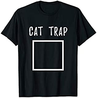 Cat Trap  - Funny Cat Lover T-shirt | Size S - 5XL