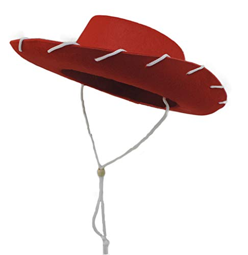 Novelty Giant Children's Western Woody Style Kids Cowboy Ranch Hat Red