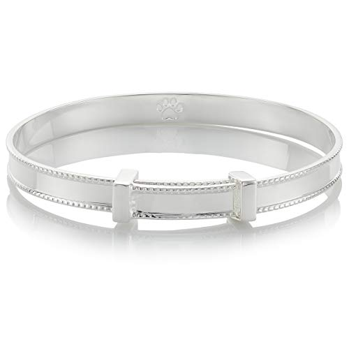 - Molly B London | Baby's 925 Sterling Silver Baby's Heritage Baptism Bangle