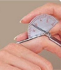 2326088 Finger Goniometer S/S Short 3.5'' sold indivdually sold as Individually Pt# 926611 by Patterson Med by Patterson Med