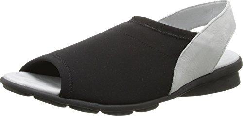Arche Women's Dajac Noir/Brume Sandal 38 (US Women's 7) M
