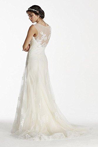 Échantillon: As-est Des Perles De Robe De Mariée En Tulle De Réservoir De Style Ai25070462 Ivoire