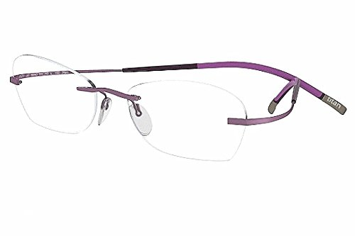 Silhouette Eyeglasses Titan Minimal Art Chassis 7581 6054 Optical Frame 17x150mm