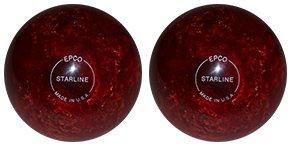 輝く高品質な EPCO Duckpin Bowling ball- Starline – オレンジレッドパール – 2 Balls 5 inch- 3lbs. 8 oz.  B01N4NIZC5, パネットマーケット 147e1d01