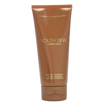 Estee Lauder Fragrance Youth Dew Amber Nude Bath & Shower Gel For Women 200Ml/6.7Oz