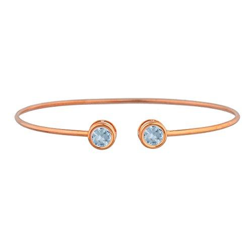 Top 9 recommendation aquamarine bracelet gold 2019