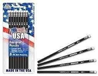 product image for USA Made #2 Pencils 8pk - Black Design