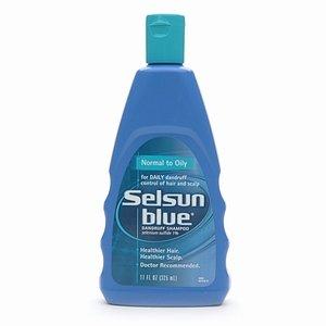Selsun bleu Shampooing, normale à grasse, 11-bouteille d'once (Pack de 3)