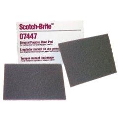 3M 07447 Scotch-Brite Maroon General Purpose Hand Pad,20 Pack
