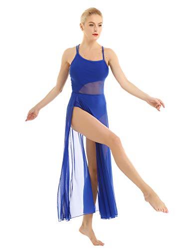 ACSUSS Women Camisole Lyrical Ballet Dance Dress