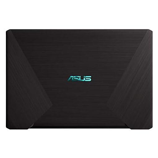 "ASUS R570ZD-DM266 - Portátil de 15.6"" FHD (AMD Ryzen 5-2500U, 8 GB RAM, 256GB SSD, NVIDIA GeForce GTX1050 2 GB, sin sistema operativo) Negro - Teclado QWERTY Español 4"
