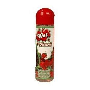 Wet Flavored Lubricant Strawberry Kiw
