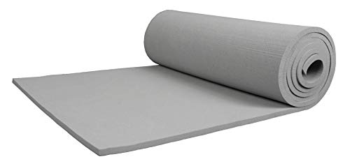 (XCEL - Extra Soft Craft Foam Roll with Minor Defects, Grey, Size 54 Inch x 12 Inch x 1/4 Inch)