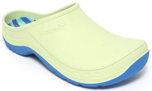Damen u. Herren Gartenclogs Clogs Gr.37-46 Gartenschuhe Schuhe Pantolette Hellgrün