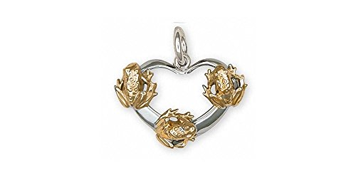 Quality Gold Frog Charm - 4