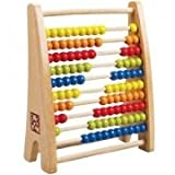 Hape Rainbow Bead Abacus Kid's Counting Toy