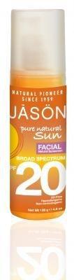 Jason Sun Facial Sunscreen SPF 20 4.50 oz