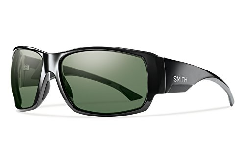 Smith Optics Men's Dockside Chroma Pop Polarized Sunglasses (Gray Green Lens), - Glasses Chroma