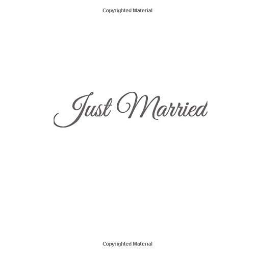 Segnaposto Matrimonio Per Uomini.Just Married Libro Degli Ospiti Just Married Guest Book Per