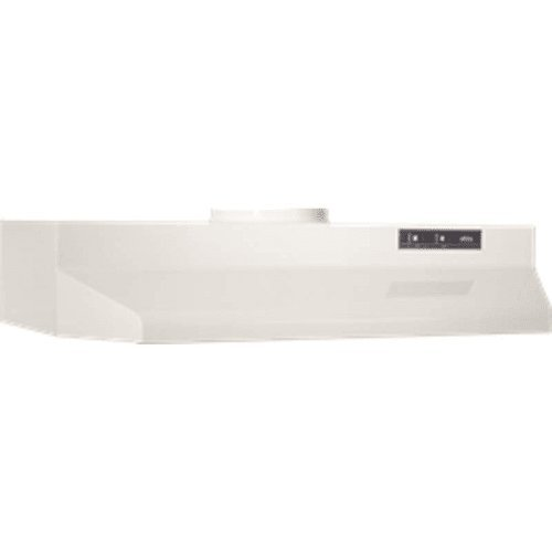 2 Inch Wide Under Cabinet Range Hood with Washable Filters a, Biscuit (42 Inch Wide Range Hood)