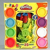 PLAY DOH Numbers, Letters n Fun Art Craft Dough Children Learning Educational Toys Games