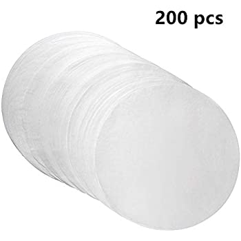 (set of 200) Parchment Paper Baking Circles 8 Inch Diameter, Baking Paper Liners for Baking Cakes, Cooking, Dutch Oven, Air Fryer, Cheesecakes, Tortilla Press