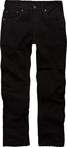 Levi's Boys 8-20 511 Skinny Fit Jean , BLACK STRETCH, 16 Regular
