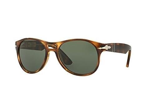 PERSOL Gafas de Sol 3155S 104331 (54 mm) Havana: Amazon.es ...
