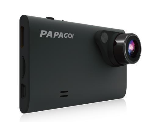 PAPAGO! GoSafe 220 1080P Full HD Dash Camera with 8GB Card (GS2208GRG) | Full 1080P, 140 Degree Viewing Angle, 2.7' LCD Screen | Built-in G-Sensor, Parking Guard 2.7 LCD Screen | Built-in G-Sensor
