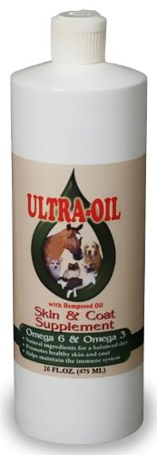 Ultra Oil Skin and Coat Supplement with Hempseed Oil (16 fl. oz.), My Pet Supplies