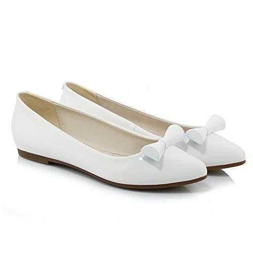 Blanc Femme EU SDC05956 AdeeSu Sandales 36 5 Blanc Compensées nSXtgxwBq